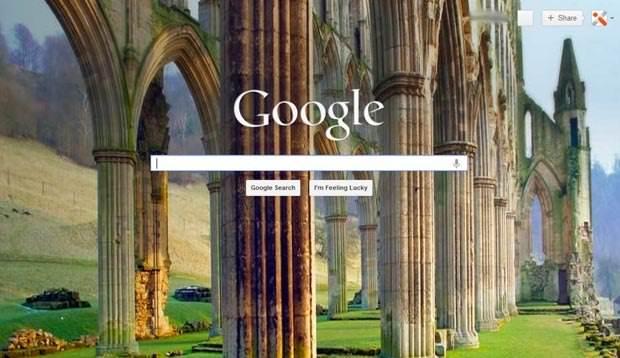 چگونه تصاویر پسزمینه زیبای Bing را در موتور جستجوی گوگل مشاهده کنیم